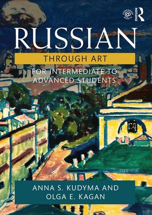 Russian Through Art: For Intermediate to Advanced Students book cover