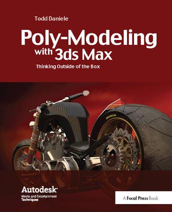 Poly-Modeling with 3ds Max: Thinking Outside of the Box, 1st Edition (Hardback) book cover