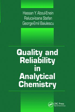 Quality and Reliability in Analytical Chemistry: 1st Edition (Paperback) book cover