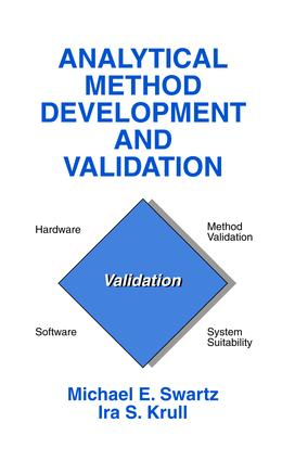 Analytical Method Development and Validation: 1st Edition (Paperback) book cover