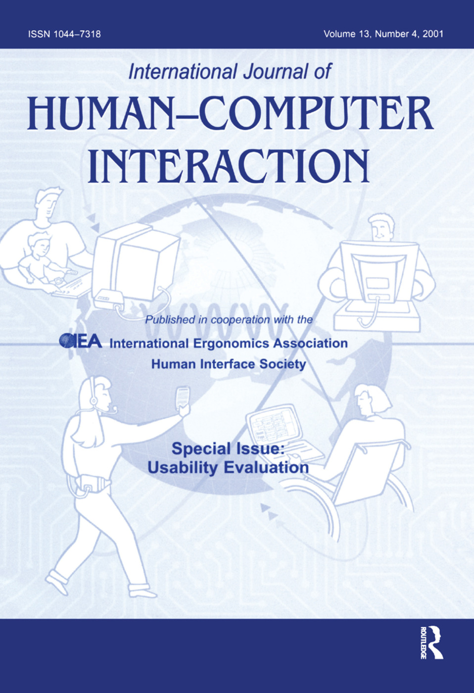 Usability Evaluation: A Special Issue of the International Journal of Human-Computer Interaction, 1st Edition (Hardback) book cover