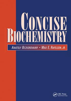 Concise Biochemistry: 1st Edition (Paperback) book cover