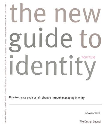 The New Guide to Identity: How to Create and Sustain Change Through Managing Identity, 1st Edition (Hardback) book cover