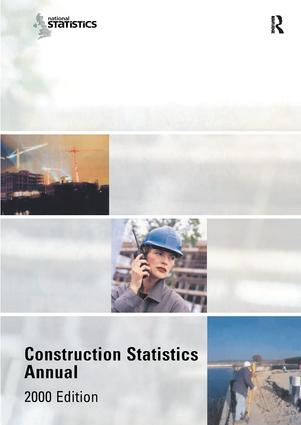 Construction Statistics Annual, 2000: 1st Edition (Hardback) book cover