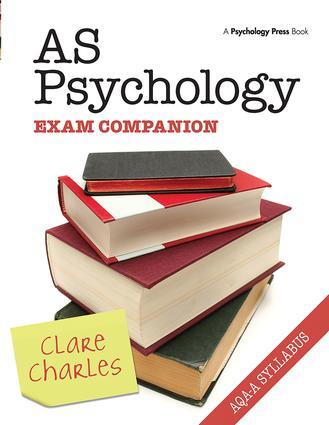 AS Psychology Exam Companion: 1st Edition (Hardback) book cover