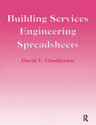 Building Services Engineering Spreadsheets: 1st Edition (Hardback) book cover