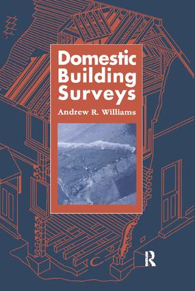 Domestic Building Surveys: 1st Edition (Hardback) book cover