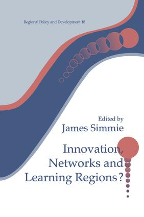 Innovation Networks and Learning Regions?: 1st Edition (Hardback) book cover
