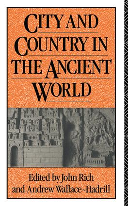 City and Country in the Ancient World: 1st Edition (Hardback) book cover