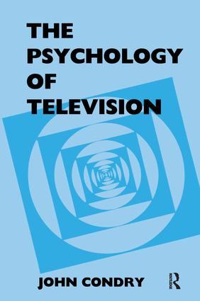 The Psychology of Television (Paperback) book cover