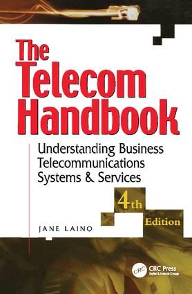 The Telecom Handbook: Understanding Telephone Systems and Services, 4th Edition (Hardback) book cover