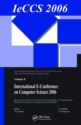 International e-Conference of Computer Science 2006: Additional Papers from ICNAAM 2006 and ICCMSE 2006, 1st Edition (Hardback) book cover