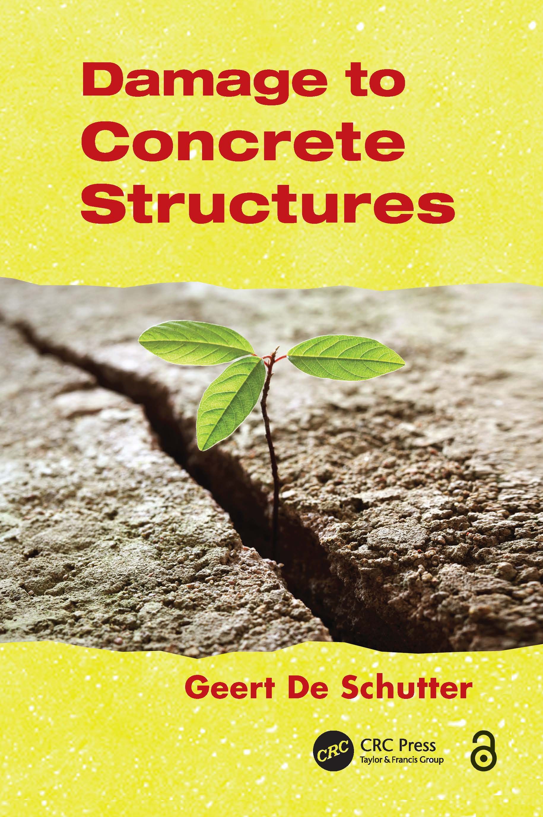 Damage to Concrete Structures: 1st Edition (Hardback) book cover