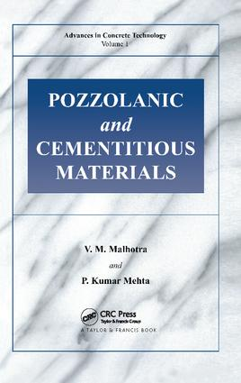 Pozzolanic and Cementitious Materials: 1st Edition (Paperback) book cover