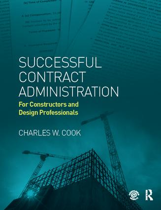 Successful Contract Administration: For Constructors and Design Professionals book cover