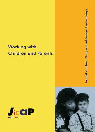 Working With Children: Journal of Infant, Child, and Adolescent Psychotherapy, 2.2, 1st Edition (Paperback) book cover