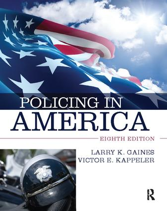 Policing in America: 8th Edition (Hardback) book cover