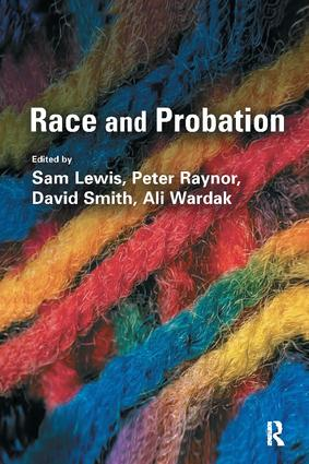 Race and Probation: 1st Edition (Hardback) book cover