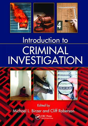 Introduction to Criminal Investigation: 1st Edition (Hardback) book cover