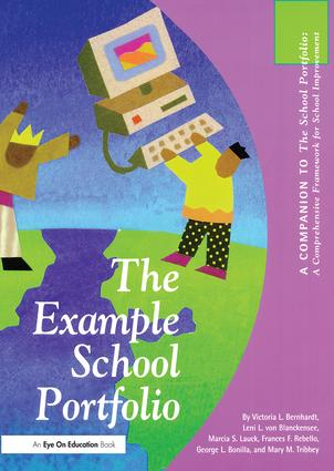 Example School Portfolio, The: A Companion to The School Portfolio, 1st Edition (Hardback) book cover