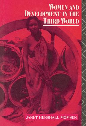 Women and Development in the Third World: 1st Edition (Hardback) book cover