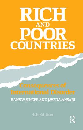 Rich and Poor Countries: Consequence of International Economic Disorder, 4th Edition (Hardback) book cover