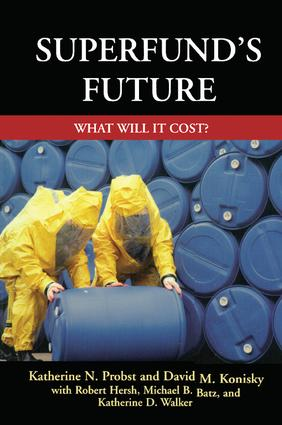 Superfund's Future: What Will It Cost, 1st Edition (Hardback) book cover