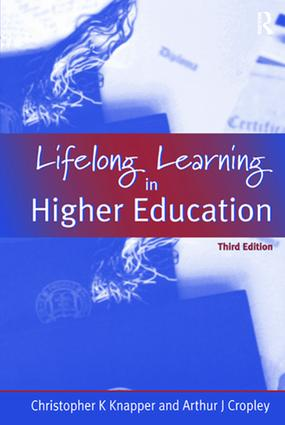 Lifelong Learning in Higher Education: 1st Edition (Hardback) book cover