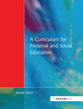 Curriculum for Personal and Social Education book cover