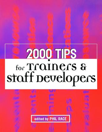 2000 Tips for Trainers and Staff Developers: 1st Edition (Hardback) book cover