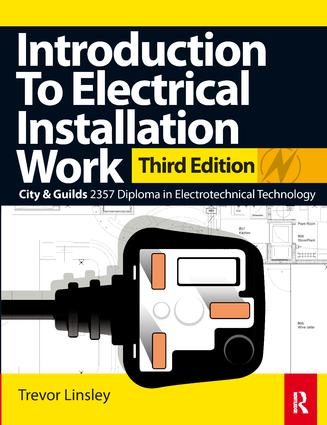 Introduction to Electrical Installation Work: 3rd Edition (Hardback) book cover