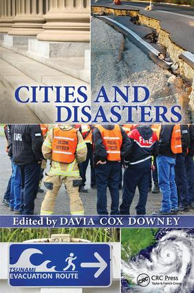 Cities and Disasters: 1st Edition (Hardback) book cover