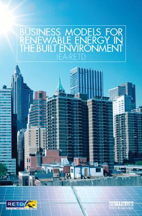 Business Models for Renewable Energy in the Built Environment: 1st Edition (Hardback) book cover