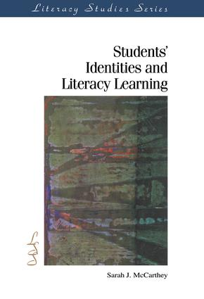 Students' Identities and Literacy Learning: 1st Edition (Hardback) book cover