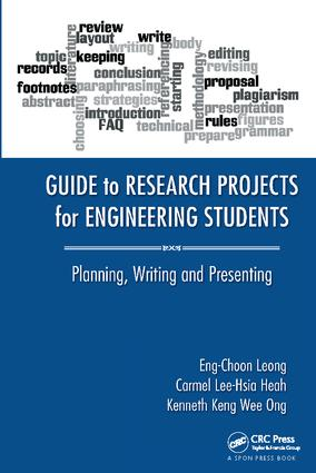 Guide to Research Projects for Engineering Students: Planning