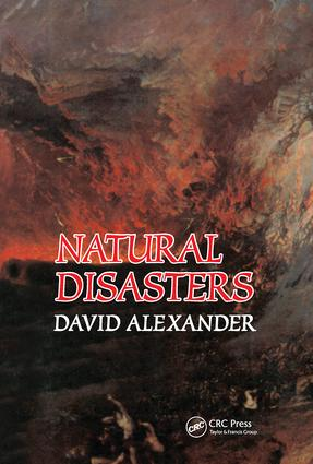 Natural Disasters: 1st Edition (Paperback) book cover