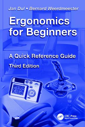 Ergonomics for Beginners: A Quick Reference Guide, Third Edition, 3rd Edition (Hardback) book cover