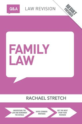 Q&A Family Law: 8th Edition (Hardback) book cover