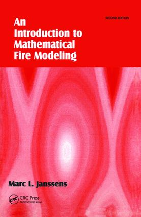 Introduction to Mathematical Fire Modeling: 2nd Edition (Paperback) book cover