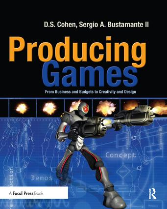 Producing Games: From Business and Budgets to Creativity and Design, 1st Edition (Hardback) book cover