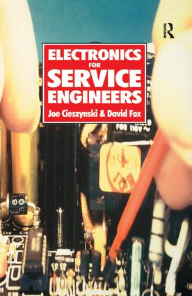 Electronics for Service Engineers: 1st Edition (Hardback) book cover