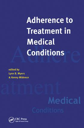 Adherance to Treatment in Medical Conditions: 1st Edition (Paperback) book cover