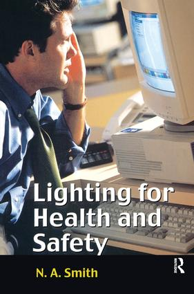 Lighting for Health and Safety (Paperback) book cover