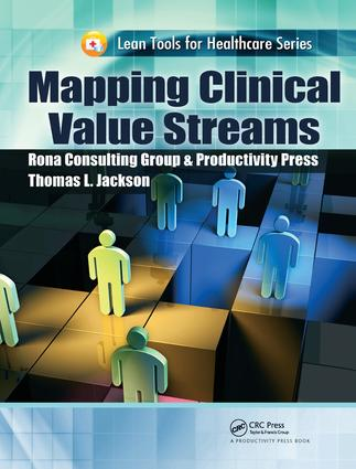 Mapping Clinical Value Streams: 1st Edition (Hardback) book cover