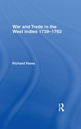 War and Trade in the West Indies: 1st Edition (Hardback) book cover