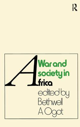 War And Society In Africa: 1st Edition (Paperback) book cover