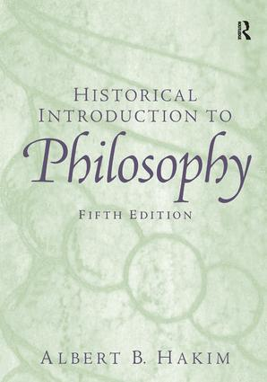Historical Introduction to Philosophy: 5th Edition (Hardback) book cover