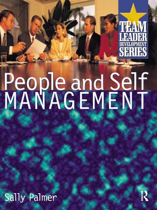 People and Self Management: 1st Edition (Hardback) book cover