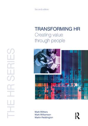 Transforming HR: 2nd Edition (Hardback) book cover