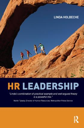 HR Leadership: 1st Edition (Hardback) book cover